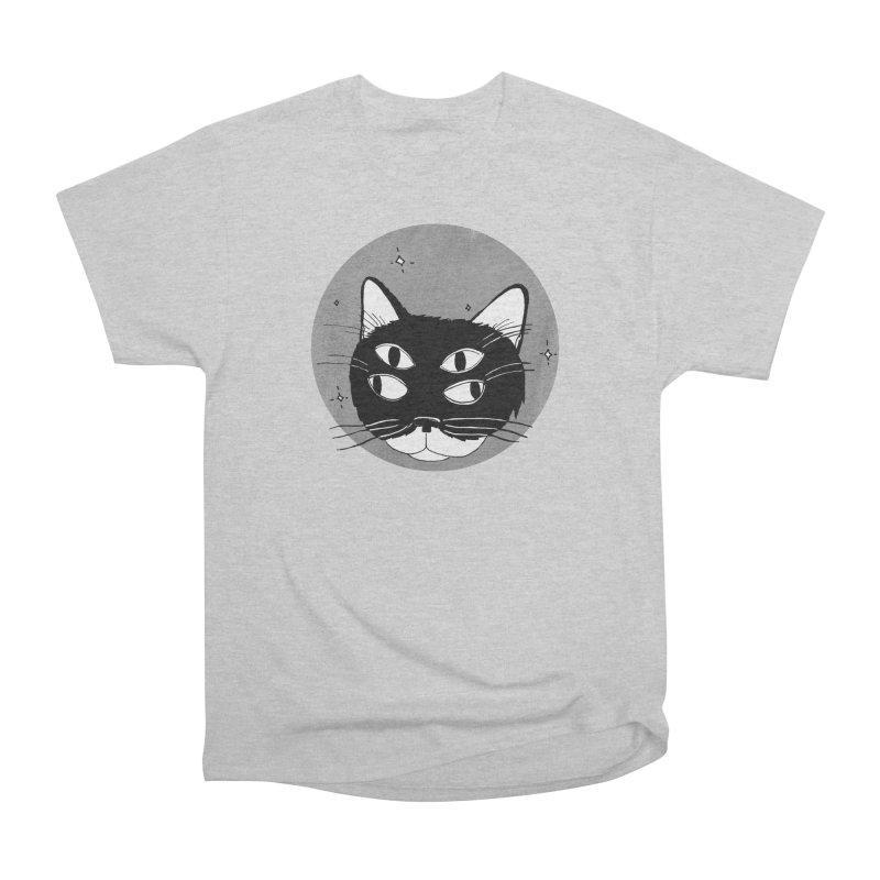Cat Eyes Women's Heavyweight Unisex T-Shirt by Mariel Kelly