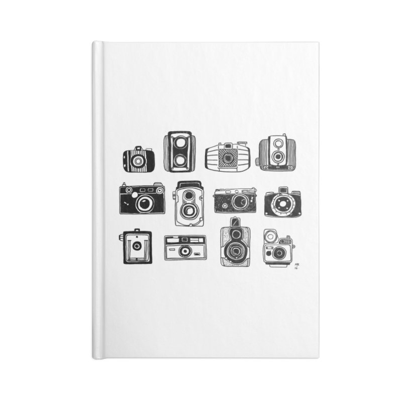 Snap Accessories Blank Journal Notebook by Mariel Kelly