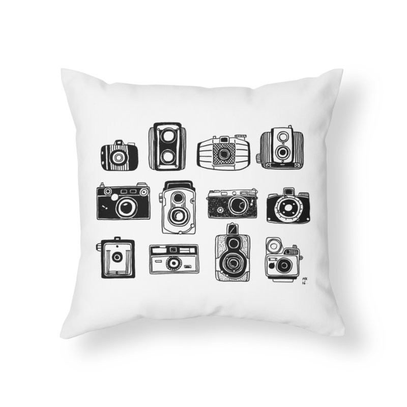 Snap Home Throw Pillow by Mariel Kelly
