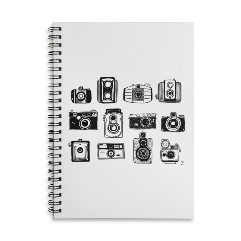 Snap Accessories Lined Spiral Notebook by Mariel Kelly