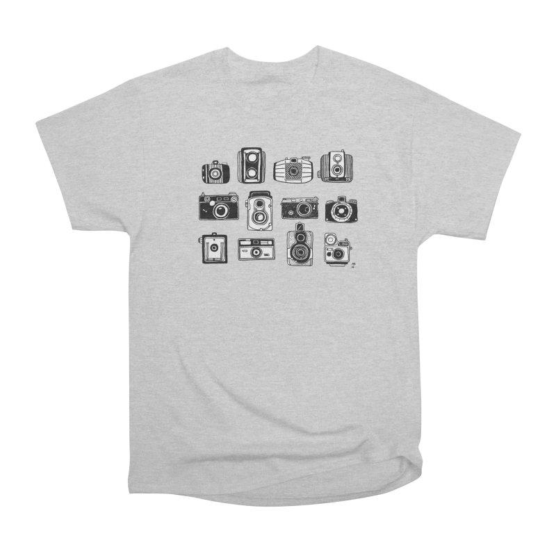 Snap Men's Heavyweight T-Shirt by Mariel Kelly