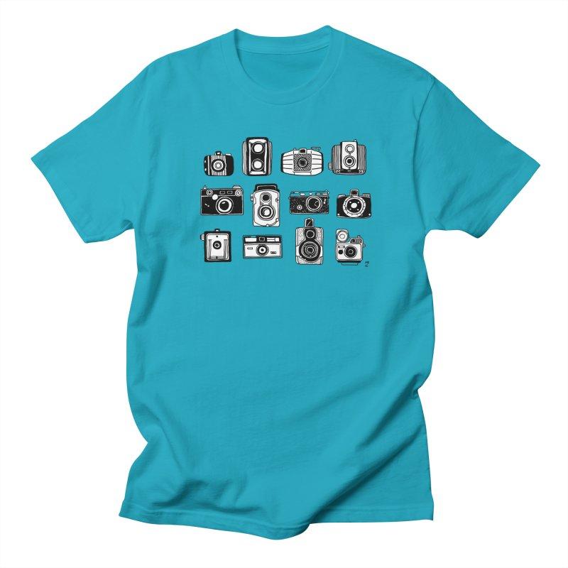 Snap Men's Regular T-Shirt by marielashlinn's Artist Shop