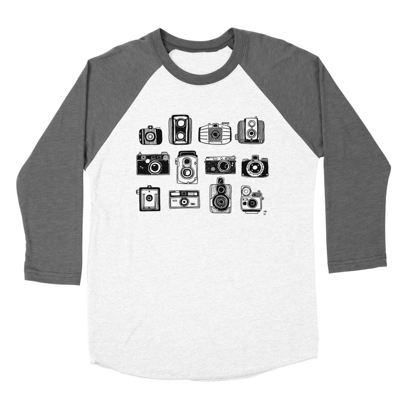 Snap Men's Baseball Triblend Longsleeve T-Shirt by marielashlinn's Artist Shop