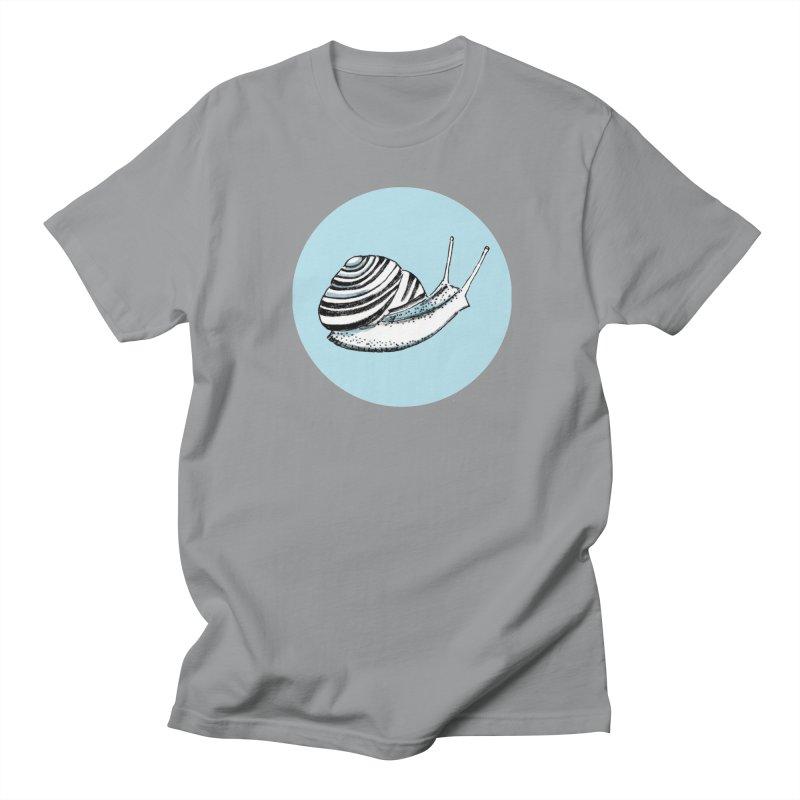 Slow Men's Regular T-Shirt by Mariel Kelly