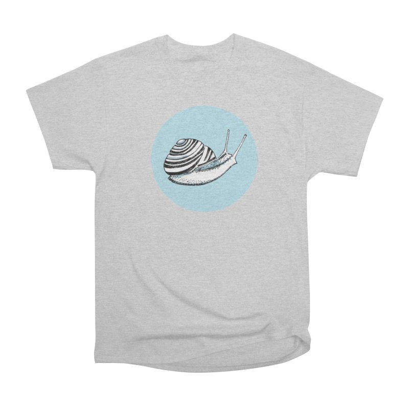 Slow Men's Heavyweight T-Shirt by Mariel Kelly
