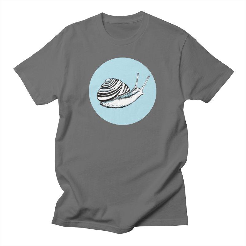Slow Men's T-Shirt by Mariel Kelly