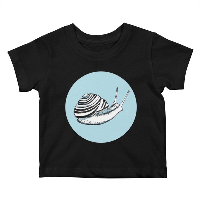 Slow Kids Baby T-Shirt by Mariel Kelly