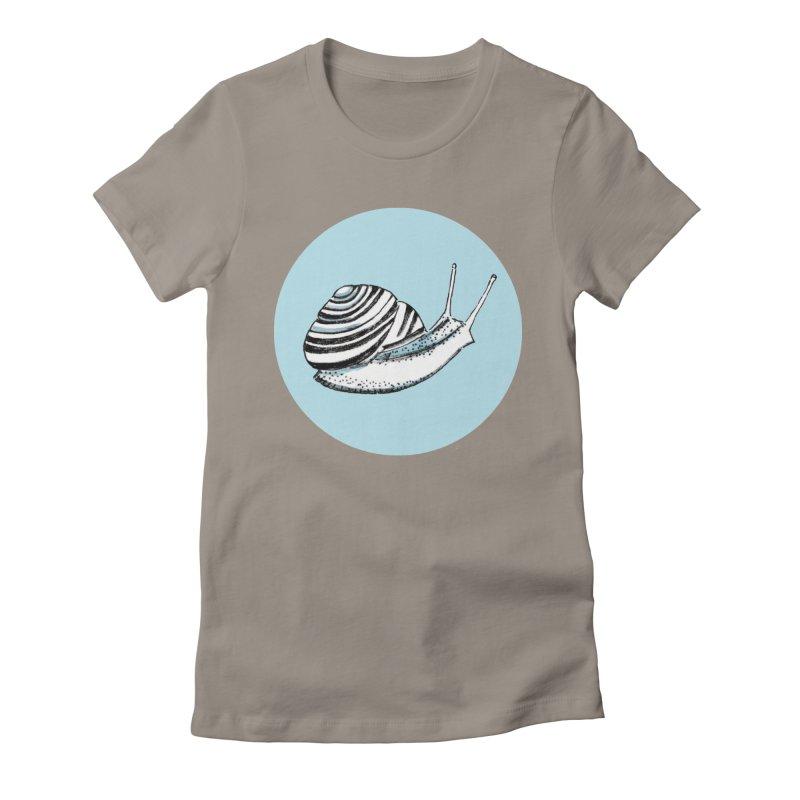 Slow Women's Fitted T-Shirt by marielashlinn's Artist Shop