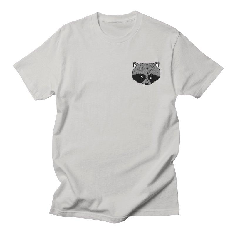 Raccoon Shirt Men's T-Shirt by Mariel Kelly