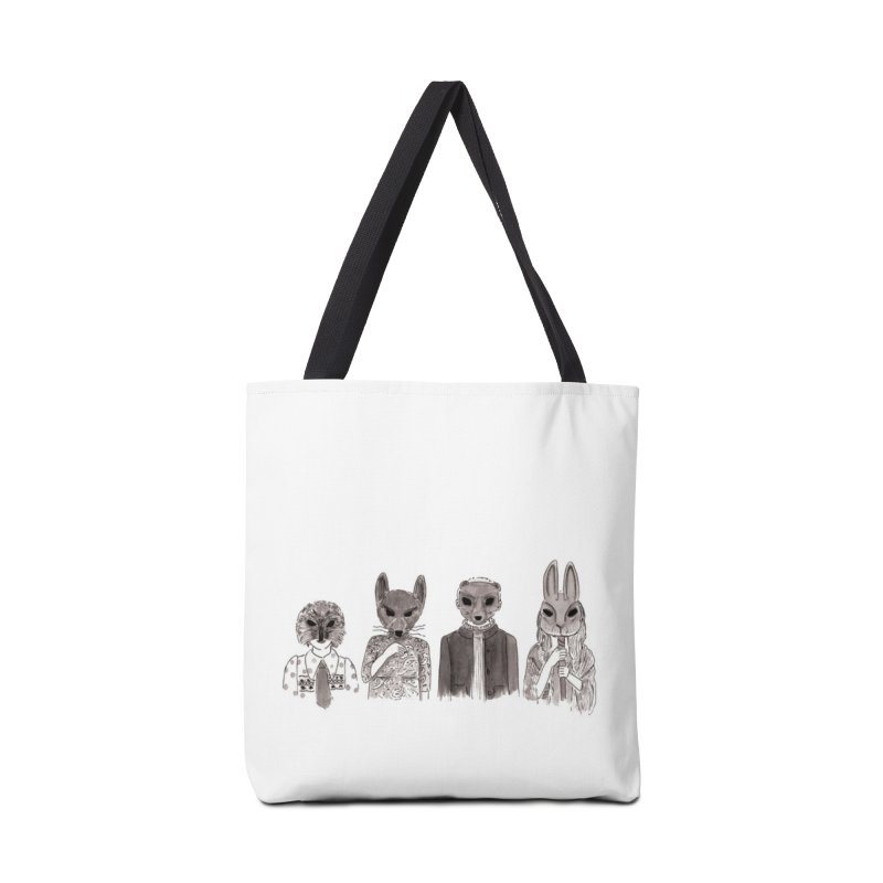 Creeps in Tote Bag by Mariel Kelly