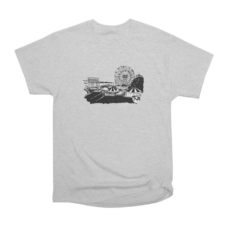 Coney Island Men's T-Shirt by Mariel Kelly