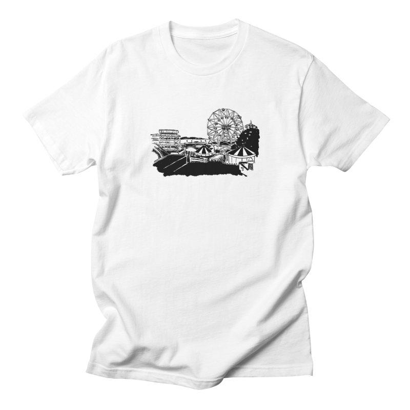 Coney Island Men's Regular T-Shirt by marielashlinn's Artist Shop