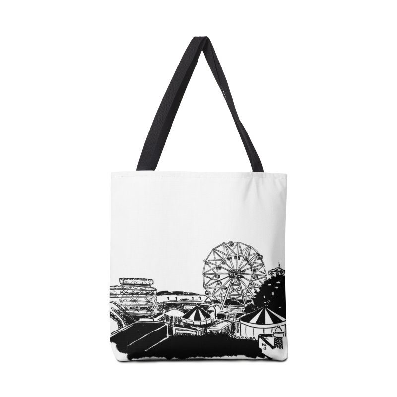 Coney Island Accessories Bag by marielashlinn's Artist Shop