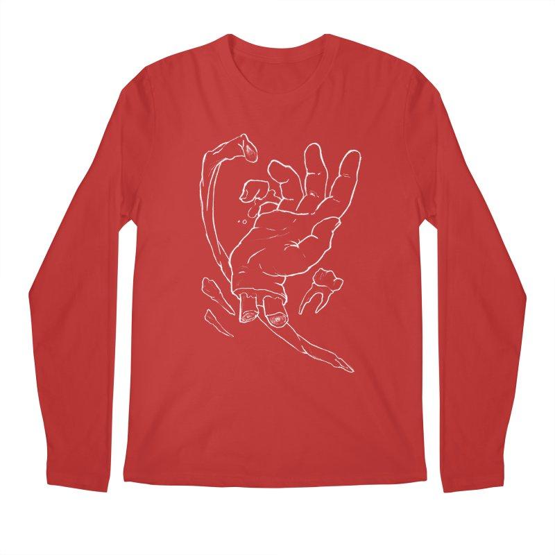 Hand Dandy - white Men's Regular Longsleeve T-Shirt by Marie Angoulvant's Shop