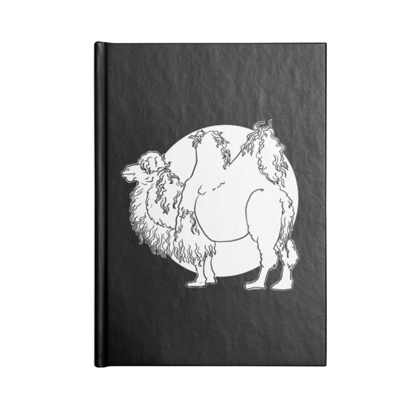 Bactrian Camel Accessories Notebook by Marie Angoulvant's Shop
