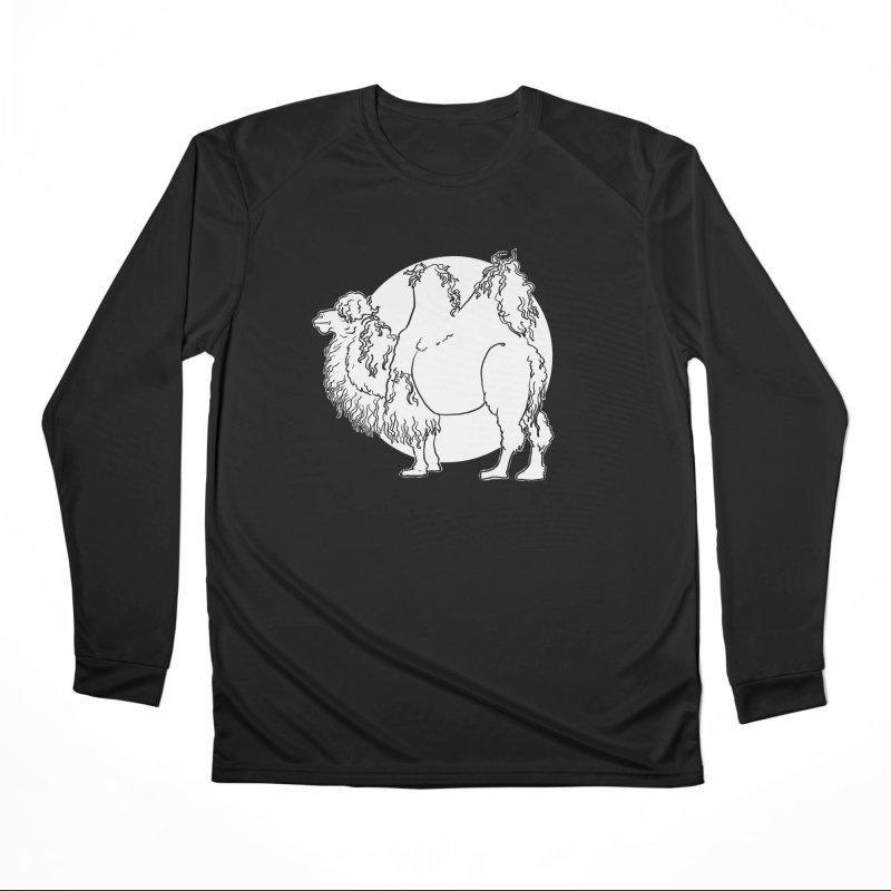 Bactrian Camel Women's Longsleeve T-Shirt by Marie Angoulvant's Shop
