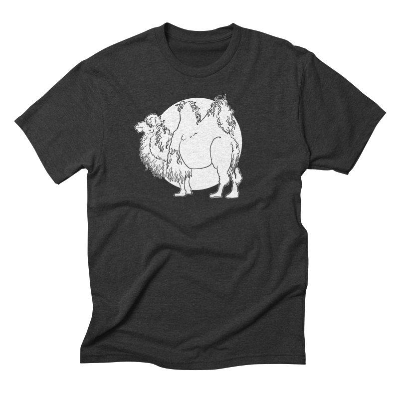 Bactrian Camel Men's T-Shirt by Marie Angoulvant's Shop