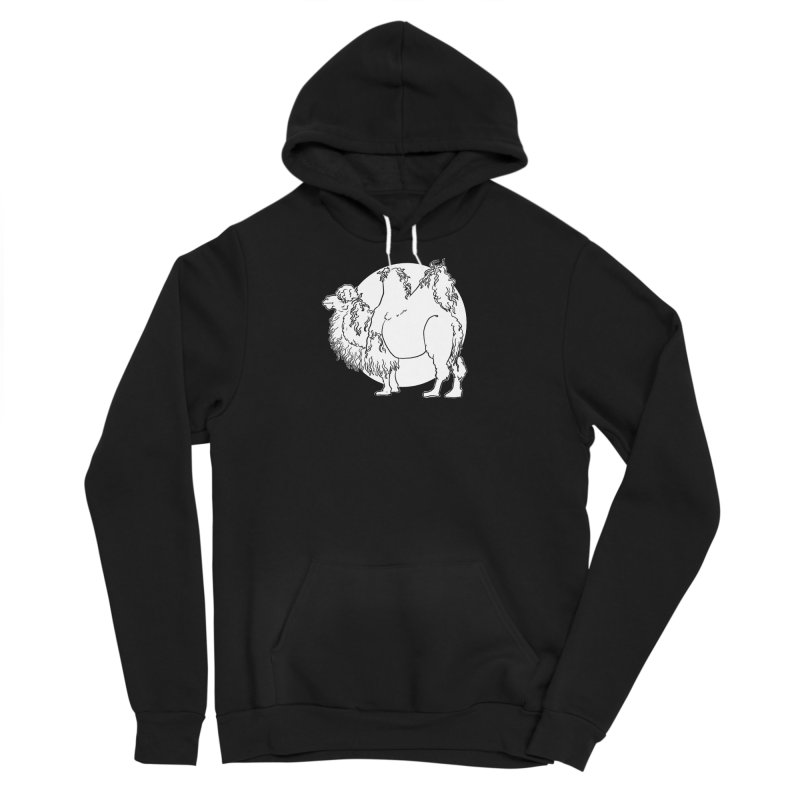 Bactrian Camel Men's Pullover Hoody by Marie Angoulvant's Shop