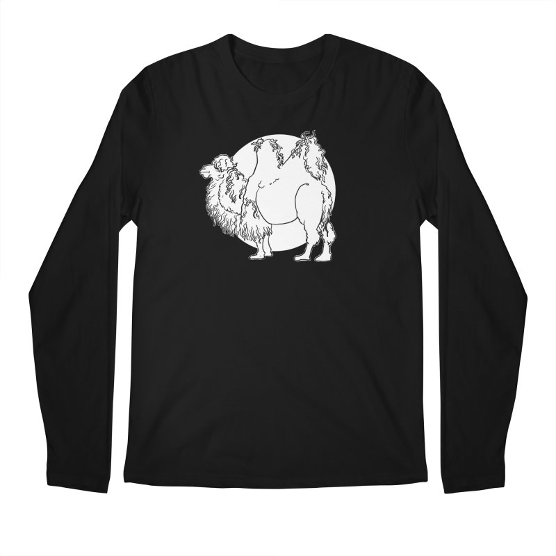 Bactrian Camel Men's Longsleeve T-Shirt by Marie Angoulvant's Shop