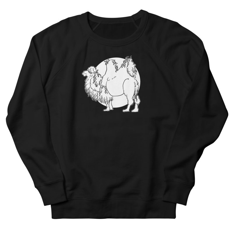 Bactrian Camel Men's Sweatshirt by Marie Angoulvant's Shop