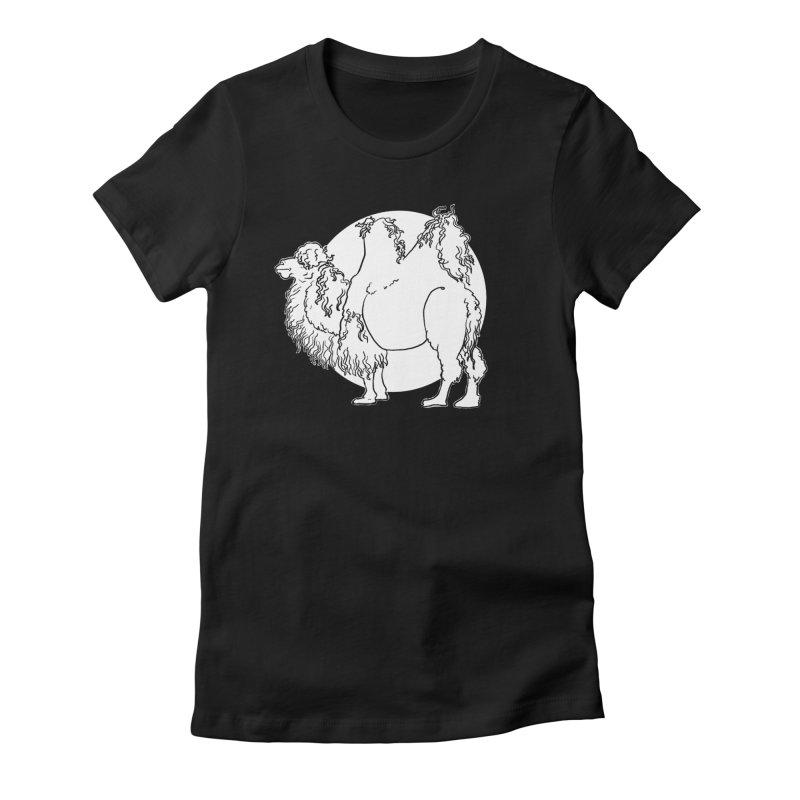 Bactrian Camel Women's T-Shirt by Marie Angoulvant's Shop