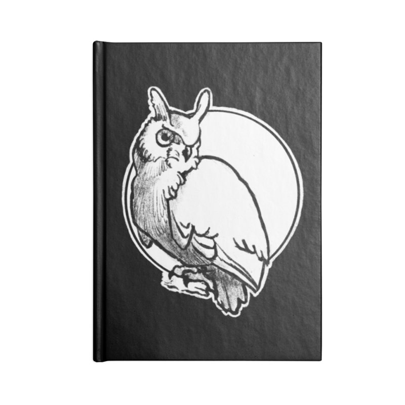 Owl Accessories Notebook by Marie Angoulvant's Shop