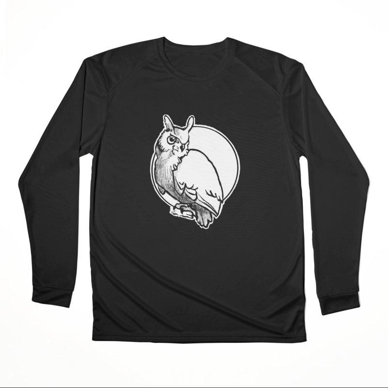 Owl Women's Longsleeve T-Shirt by Marie Angoulvant's Shop