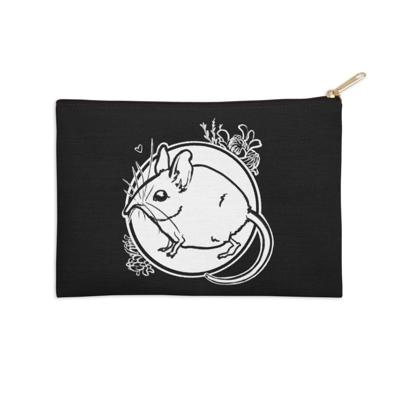 Elephant Shrew Accessories Zip Pouch by Marie Angoulvant's Shop