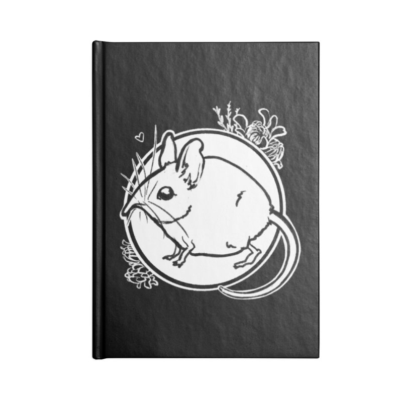Elephant Shrew Accessories Notebook by Marie Angoulvant's Shop