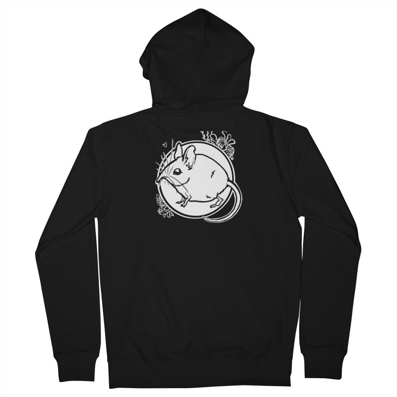 Elephant Shrew Men's Zip-Up Hoody by Marie Angoulvant's Shop