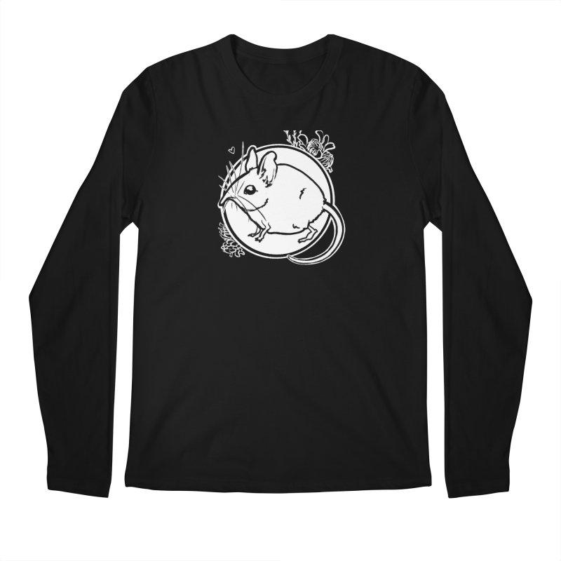 Elephant Shrew Men's Longsleeve T-Shirt by Marie Angoulvant's Shop