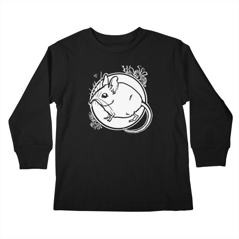 Elephant Shrew Kids Longsleeve T-Shirt by Marie Angoulvant's Shop
