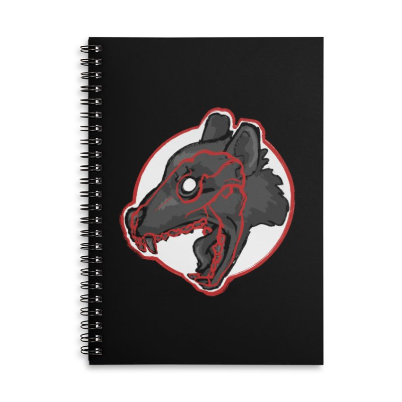 Tazmanian Devil Accessories Notebook by Marie Angoulvant's Shop