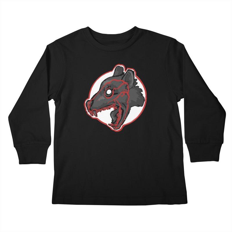 Tazmanian Devil Kids Longsleeve T-Shirt by Marie Angoulvant's Shop