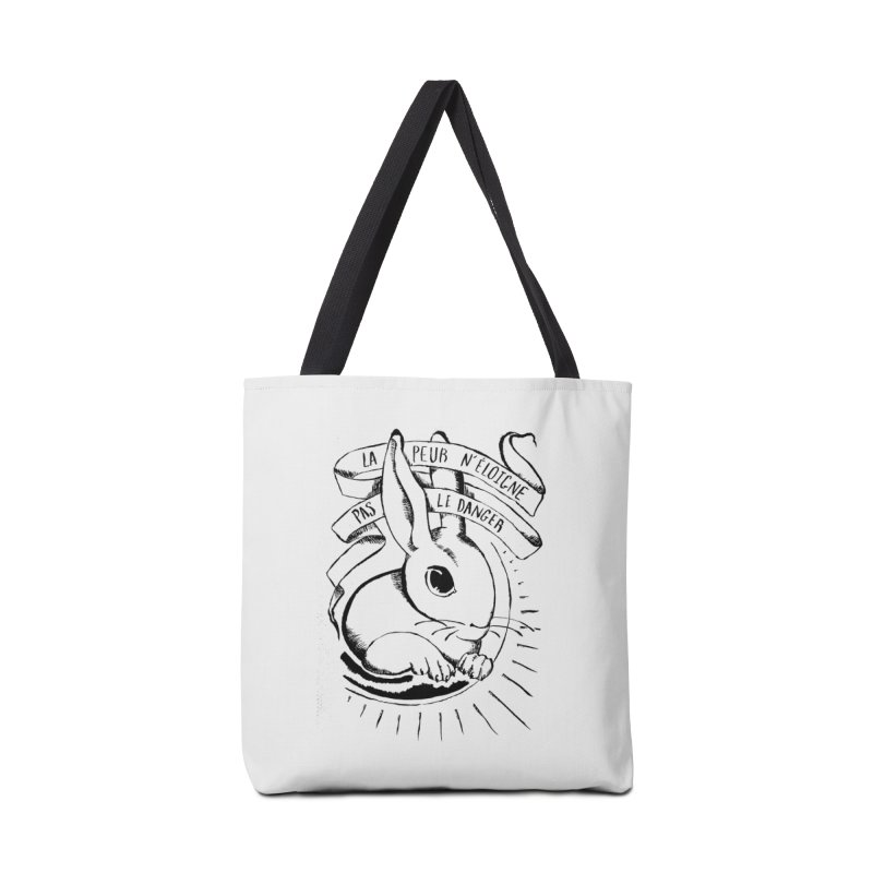 Fear Does Not Distance Danger Accessories Bag by Marie Angoulvant's Shop