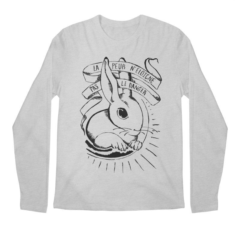 Fear Does Not Distance Danger Men's Regular Longsleeve T-Shirt by Marie Angoulvant's Shop