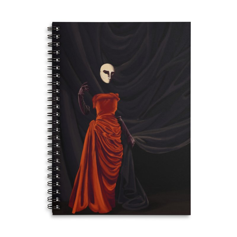 Red Dress Accessories Notebook by Marie Angoulvant's Shop