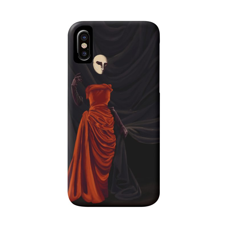 Red Dress Accessories Phone Case by Marie Angoulvant's Shop