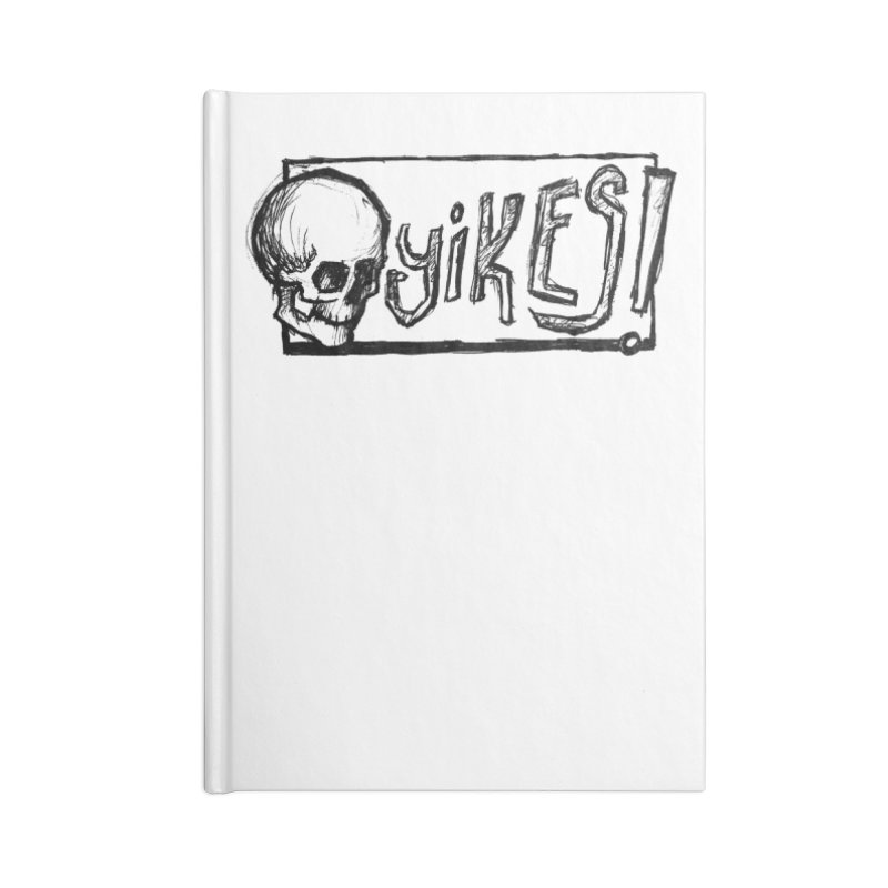 YIKES! Accessories Lined Journal Notebook by Marie Angoulvant's Shop