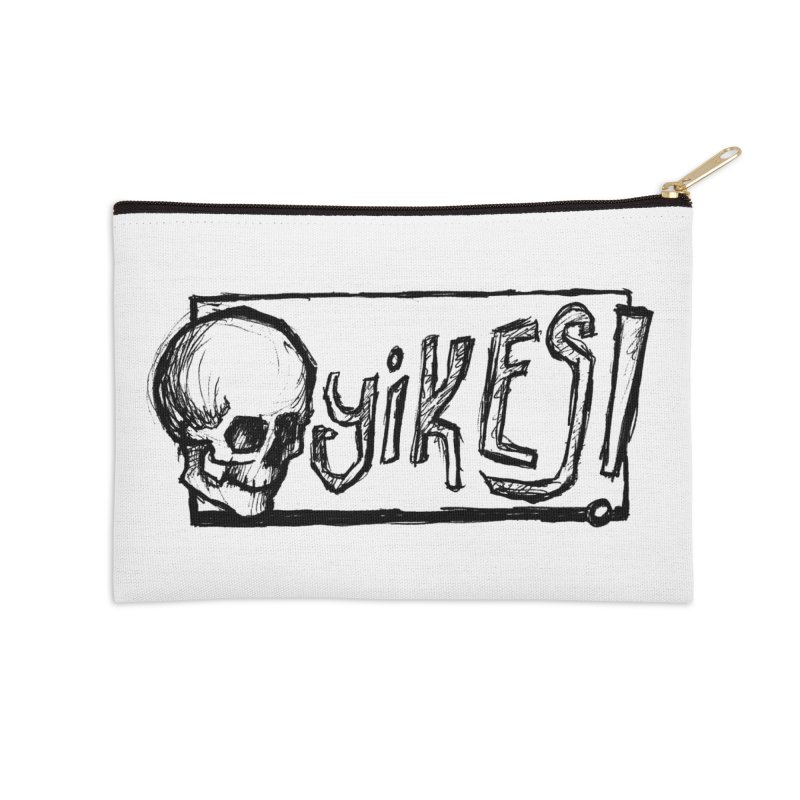 YIKES! Accessories Zip Pouch by Marie Angoulvant's Shop
