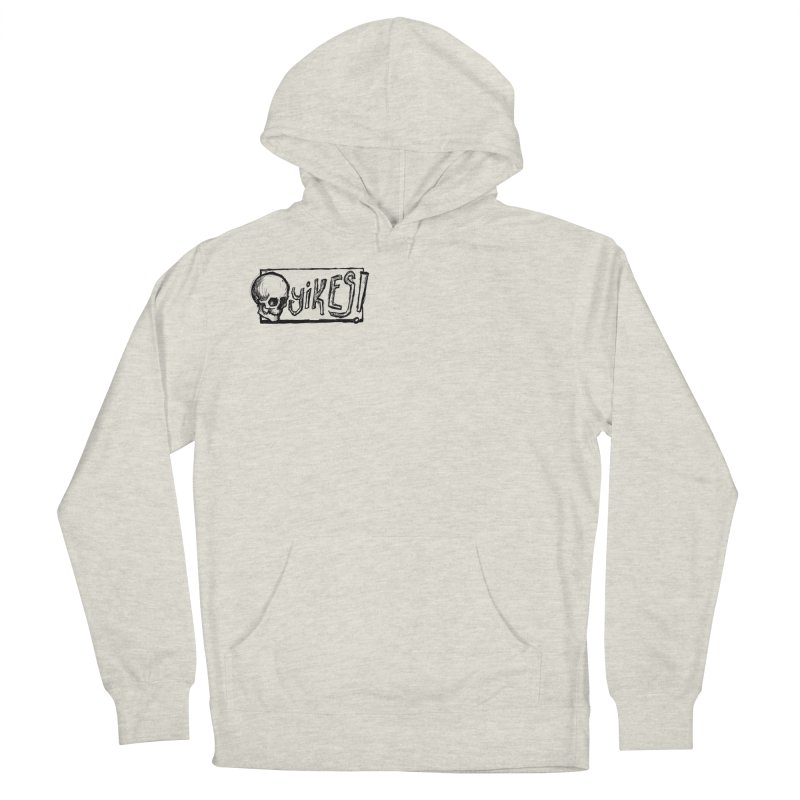 YIKES! Men's French Terry Pullover Hoody by Marie Angoulvant's Shop