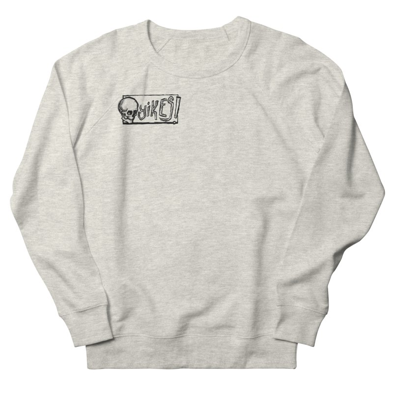 YIKES! Men's French Terry Sweatshirt by Marie Angoulvant's Shop