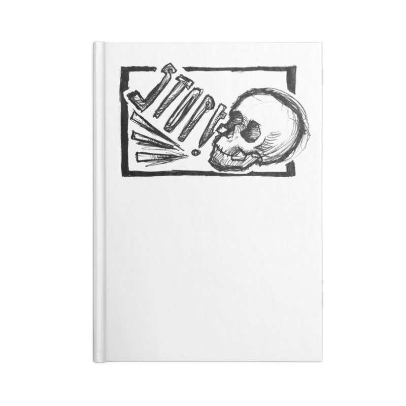 STOP! Accessories Lined Journal Notebook by Marie Angoulvant's Shop