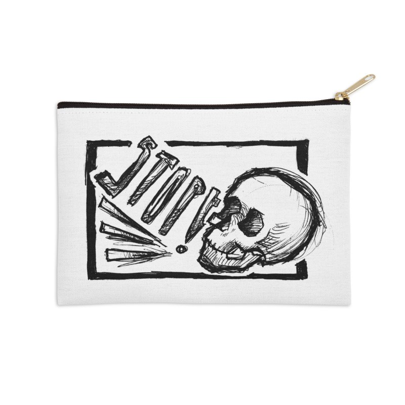 STOP! Accessories Zip Pouch by Marie Angoulvant's Shop