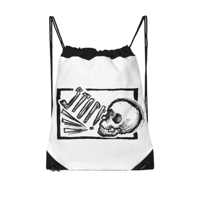 STOP! Accessories Drawstring Bag Bag by Marie Angoulvant's Shop