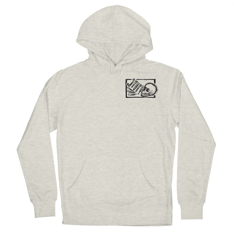 STOP! Men's French Terry Pullover Hoody by Marie Angoulvant's Shop