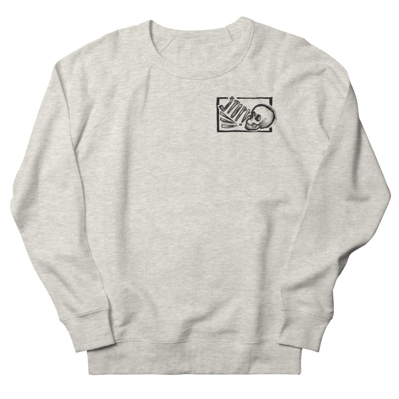 STOP! Men's French Terry Sweatshirt by Marie Angoulvant's Shop