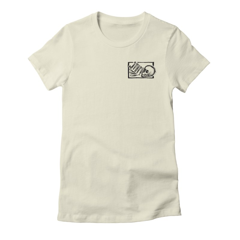 STOP! Women's Fitted T-Shirt by Marie Angoulvant's Shop