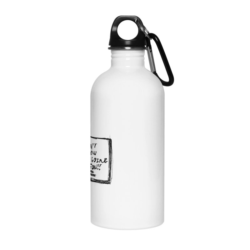 I Don't Know What's Going On! Accessories Water Bottle by Marie Angoulvant's Shop