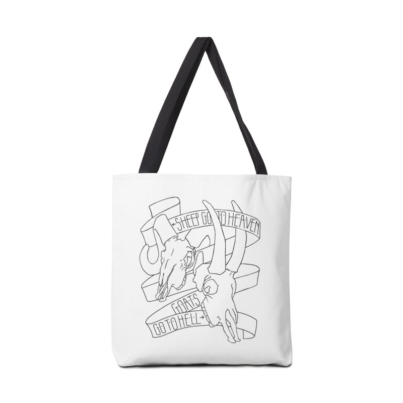 Sheep Go To Heaven Accessories Tote Bag Bag by Marie Angoulvant's Shop